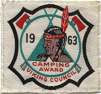 1963 Camping Award - Courtesy of Steve Young