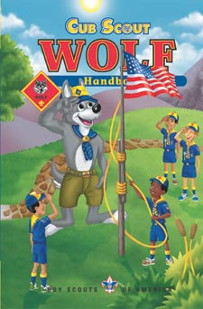 Wolf Scout Handbook - click for rank details